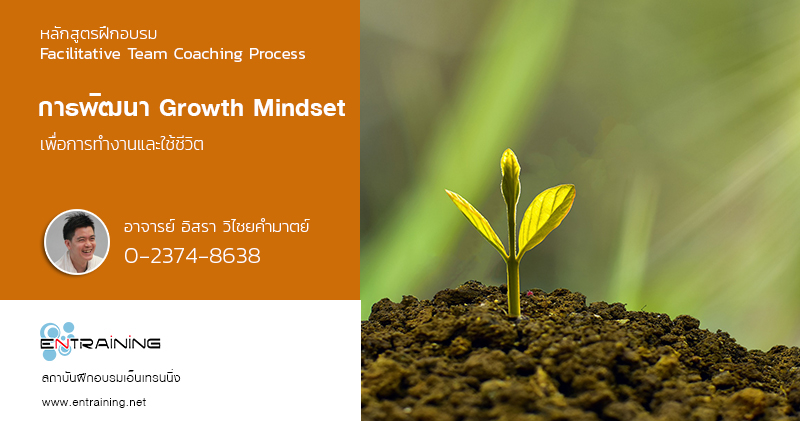 การพัฒนา Growth Mindset ด้วยตนเอง เพื่อการทำงานและใช้ชีวิต